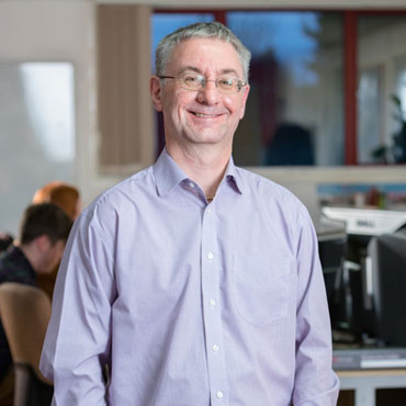Alan Prior, Finance & Commercial Manager